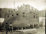 Erection of Tamanay Hall, Dawson City.