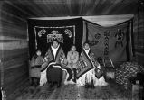 Tlingit family group, Yakutat, Alaska.