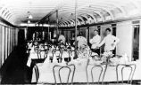 Dining salon on the ALASKA.