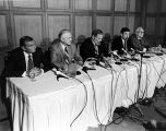 Capitol Move press conference, Anchorage, July 1982.