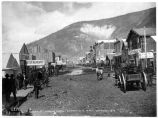 Main Street, looking north, Dawson City, N.W.T.,  ca. 1898.