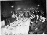 Joint birthday of Mrs. Tozier and Miss O'Brien, May 10, 1900.