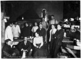 Fairview Hotel kitchen, chef & his staff, Dawson, Y.T.