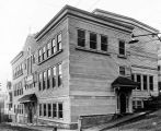 New Catholic School, Juneau, Alaska, 1919.