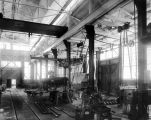 Alaska-Juneau Mine, machine shop, 1914.
