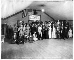 April Fool Mask Ball at Poorman, Ruby Dist., Alaska, 1916.