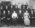 Staff of General Land Office, Alaska Division, December 1911.