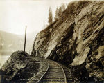 Copper River & Northwestern Railway, Mile 129.