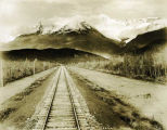 Chugach Range, Copper River & Northwestern Railway, Alaska.