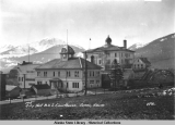 City Hall & U. S. Courthouse.  Juneau, Alaska, ca. 1918.