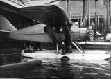 Alaska Coastal Airlines Bellanca floatplane, ca. 1930s.