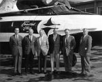Shell Simmons and aviation executives.