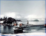 PBY, Sitka seaplane pull out.