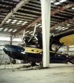 Alaska Coastal Airlines PBY in hangar, February 1958.