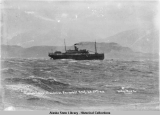 "The sinking of the Princess Sophia. (4) ""Princess Sophia"" stranded on Vanderbilt Reef, ..."