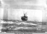 "The sinking of the Princess Sophia. (3) ""Princess Sophia"" on Vanderbilt Reef, Oct. 24th,..."