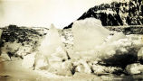 Ice breaks up near Juneau, 1930.