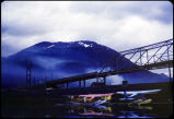 Douglas Bridge over Gastineau Channel, 1959.