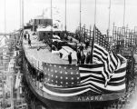 Launching of the S.S. ALASKA, April 19, 1923.