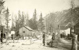 Gold rush town, ca. 1898.