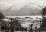 Skagway's wharves, May 1898.