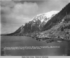 Showing Juneau Waterfront and Mill of the Alaska-Juneau Gold Mining Co., ca. 1920.