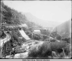 Ebner mine in Gold Creek Valley near Juneau, ca. 1920.
