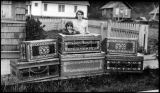Chinese camphorwood chests, Kake, ca. 1930.