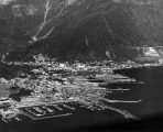 Aerial view of Juneau.