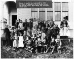 Juneau students photographed in 1888.