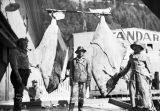 Largest halibut received at Juneau Cold Storage.