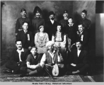 Members of Serbian Socity [Society] Flag No. 65, Presents Play  Osveta.   Juneau, Alaska, Jan....