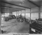 Compressor Room.  Perseverance Mine, ca. 1914.