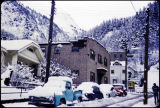 Juneau residential street in winter, 1959.