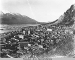 Bird's eye view Showing portion of Juneau, Alaska, ca. 1926.