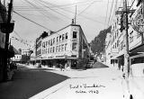 Front and Franklin, Juneau, Alaska, ca. 1943.