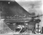 Showing A. S. S. Co. dock and P. C. Co. addition, ca. 1917.