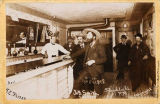 Soapy Smith in his saloon, Skagway, February 26, 1898.