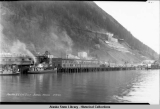 Pacific S. S. Co's Dock.  Juneau, Alaska, 2-10-26.