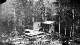 First hatchery at Eyak Lake, Cordova, 1921.