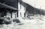 Crooked Creek after the flood, July 22, 1946.
