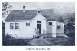 Moose Pass School, 1935.