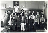 School photograph from Wacker School, 1942-43.