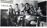 Akiak students, Akiak School, 1940-41.
