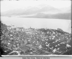 Birds-Eye View of Juneau, Alaska, ca. 1896.
