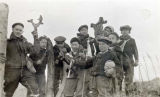 Boy Scouts from Unalaska on field trip, ca. 1942.