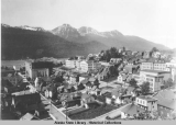 Juneau, Alaska, schools, hospitals,and churches, ca. 1935.