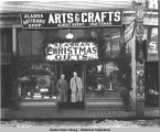 Albert Berry's Alaska Artisans Arts & Crafts Shop, Juneau, Alaska, ca. 1922.