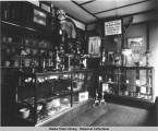 Interior of Albert Berry's Alaska Artisans shop in the Horseshoe Building on Main Street, Juneau,...