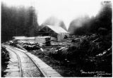 Salmon Creek sawmill, Power Supply Division, 1912.